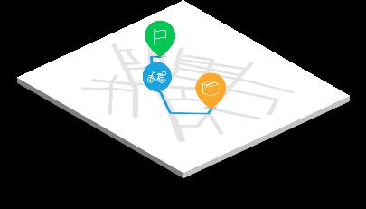 alopeyk app demo map