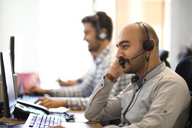 پشتیبانی آنلاین و تلفنی ۲۴ ساعته الوپیک